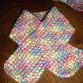 Trousseau pour bébé ... #3 l'écharpe kitsch
