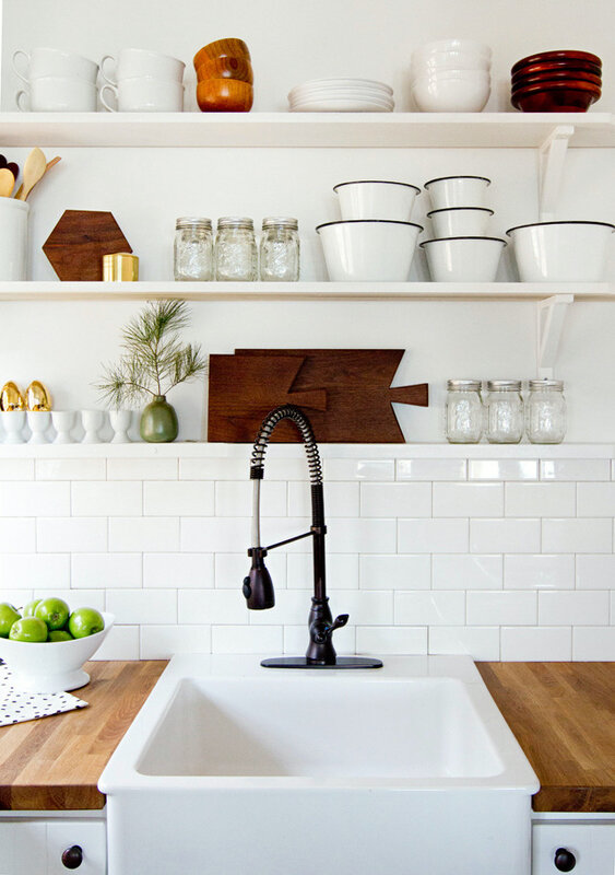 White-kitchen-with-open-shelves-by-Sarah-Sherman-Samuel