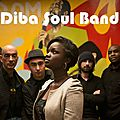 Diba soul band, mai 2013