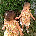 Petites jumelles adorables