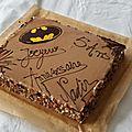 Gâteaux d 'anniversaire batman