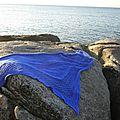 Ruby in blue à la mer