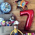 Fêter ses 7 ans avec Toys Story