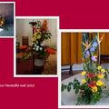 fleurissement pour pentecote