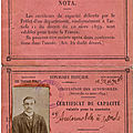 La transcription du journal de guerre de Victor Moïse Louis Calon, mort au combat le 23 octobre 1914 à <b>Vienne</b>-le-Château.