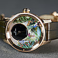 L'envol magique du colibri, la jaquet droz tropical bird repeater