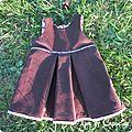 <b>Robe</b> inspirée de la <b>robe</b> <b>froncée</b>