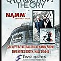 Attraction theory @ namm 2018 (usa)- semaine prochaine au stand de two notes/ french touch from attraction theory's coming !!