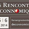 Aix : rencontres déconnomiques 2014