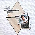 Page «YOU» sur le thème du mois « Triangle » par Icenalys
