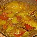 Tajine de poulet façon marrakech