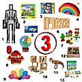 Idées cadeaux pour un enfant de 3 ans