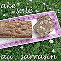 Cake salé tout Sarrasin