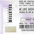 Yak / IDLES / <b>Metronomy</b> / Sleaford Mods - Samedi 1er Juin 2019 - Festival We Love Green (Bois de Vincennes)