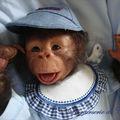 kouky bébé singe reborn n10