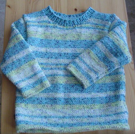 pull 2 ans tricot