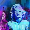 01A. Blue Marilyn