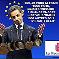 ump sarkosy humour election