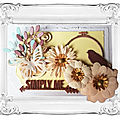 National <b>Scrapbooking</b> Day : création de Oupsy