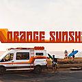 Ford Transit Orange Sunshine