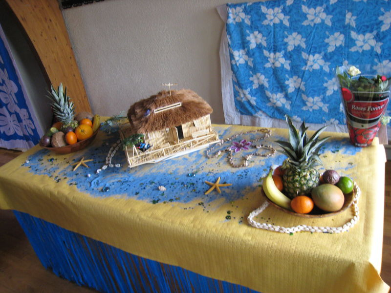 Urne paillote location de d coration venementielle - Decoration evenementielle ...