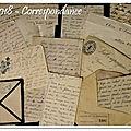 Projet 52 - correspondance