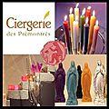 Bougies à la Plongée - <b>Cierges</b> à la Louche - Ciergerie des Prémontrés
