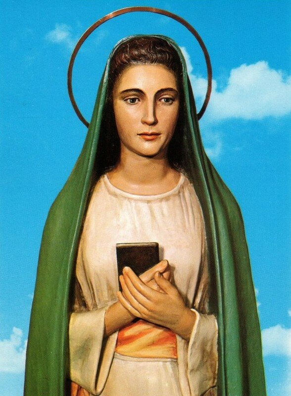 La Vierge de la Révélation de Tre Fontane