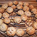 Cookies aux dattes, sans sucre, sans lactose
