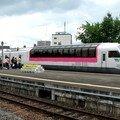 Rainbow express at Furano station