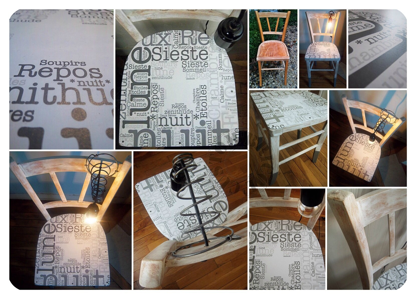Chaise bistrot NDM - montage