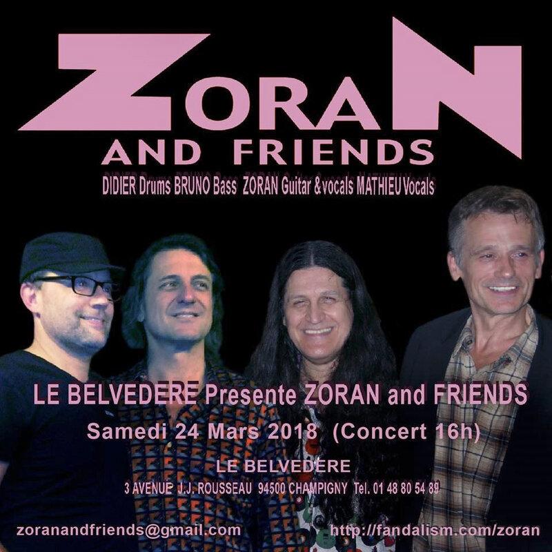 Affiche Zoran & Friends Belvedère Mars 2018 (1)
