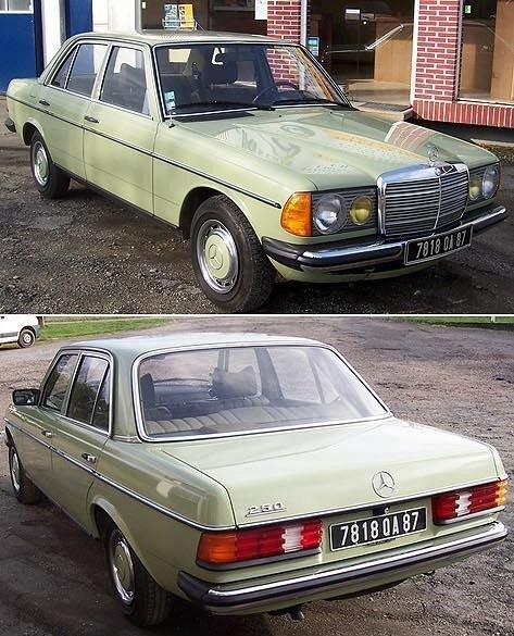 MERCEDES - 250 Berline - 1976