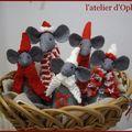 des souris en hiver
