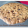 Cookies géants [ou comment accompagner un bon moment entre copines !]