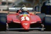 Didier Pironi sur Ferrari F1 en 1981