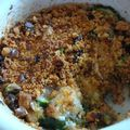 Crumble de courgette