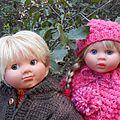 Arthur et adélie dans les bois