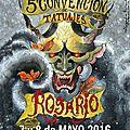 <b>Convencion</b> de <b>Tatoo</b> <b>Arte</b> <b>Eterno</b> <b>7</b> au <b>8</b> <b>mai</b> <b>2016</b>