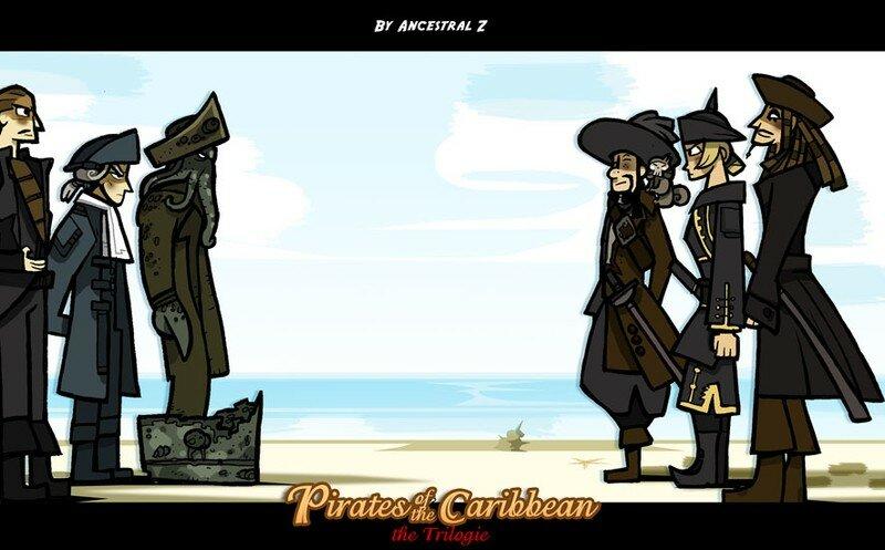 Rencontre Elizabeth swann pirate des caraibes pirate of caribbea