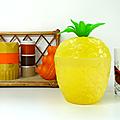 Vintage ... SEAU A GLACONS * Ananas