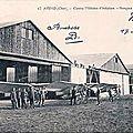 les cousins ( 1+) - Arrivée de blessés à Autun - Les élèves-pilotes américains à l'école d'<b>Avord</b>