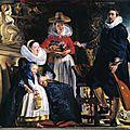 <b>Jordaens</b> - 1593-1678 La Gloire d'Anvers