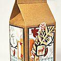 Petite boîte aux couleurs automnales - Lilou.
