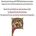 le 17 avril : Tout savoir sur la <b>bataille</b> de <b>Fontenoy</b> !