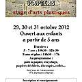 Stage de toussaint 2012