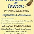 Salon tradition et passion de soisy sur seine