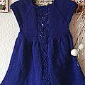Robe <b>layette</b> : Leaf Love Dress