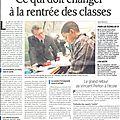Des nouvelles du Ministère de l'<b>Éducation</b> <b>Nationale</b>