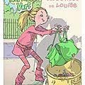 Le cartable vert, tome 1, le chaton de mathilde, tome 2, les bêtises de louise, écrit par alice hulot